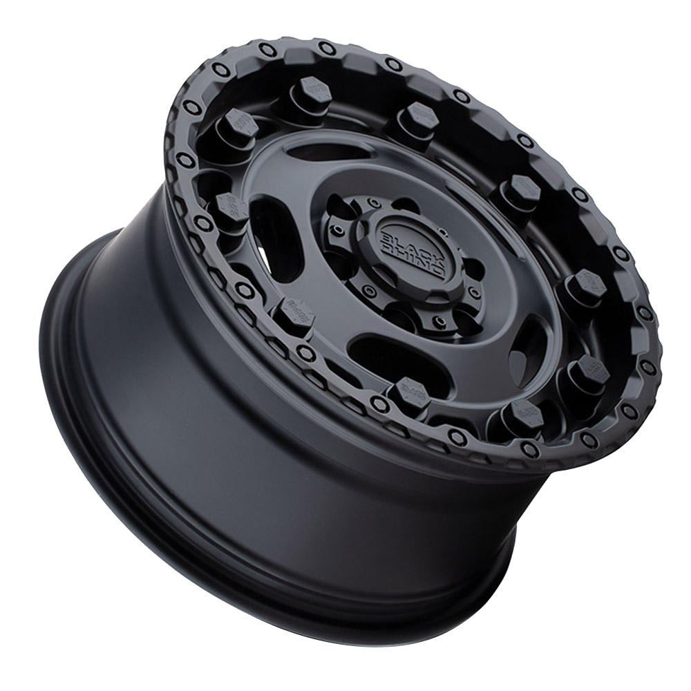 Black Rhino Wheels Glacier - Matte Black Rim