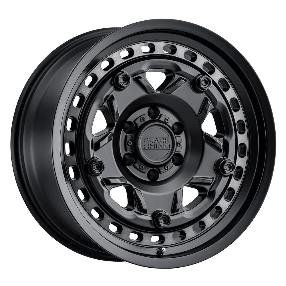 Black Rhino Wheels Grange - Matte Black W/Machined Tint Ring Rim