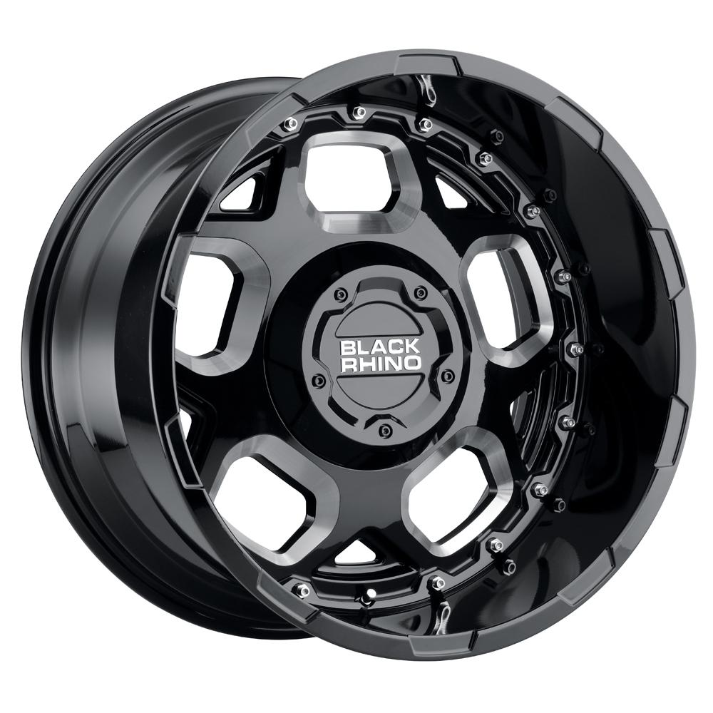 Black Rhino Wheels Gusset - Gloss Black