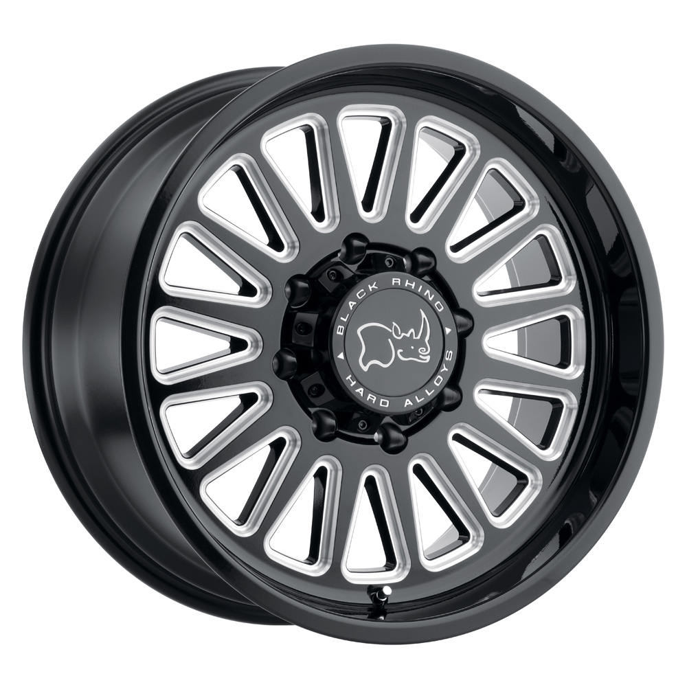 Black Rhino Wheels Ocala - Gloss Black with Milled Spoke