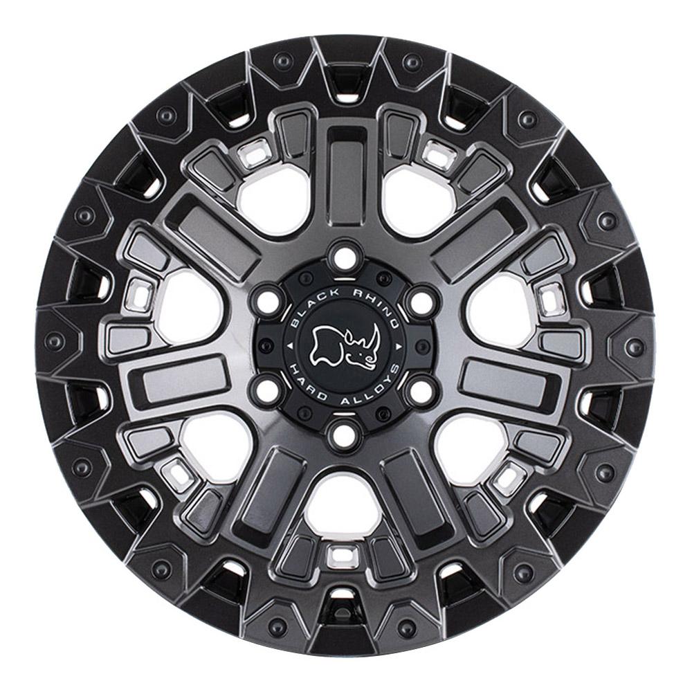 Black Rhino Wheels Ozark - Gloss Gunmetal Rim