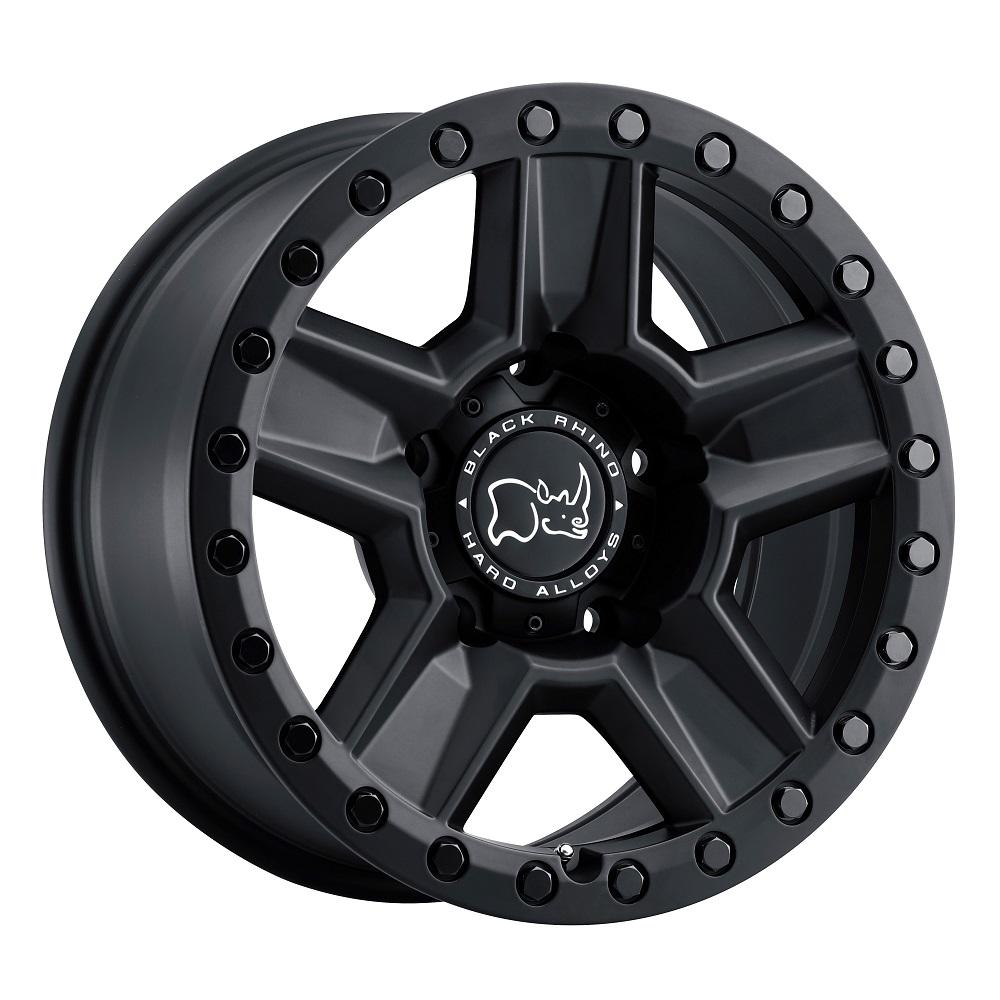 Black Rhino Wheels Ravine - Matte Black Rim