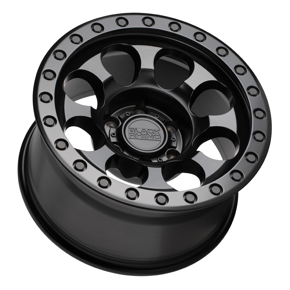 Black Rhino Wheels Riot - Matte Black w/ Black Bolts RF Rim