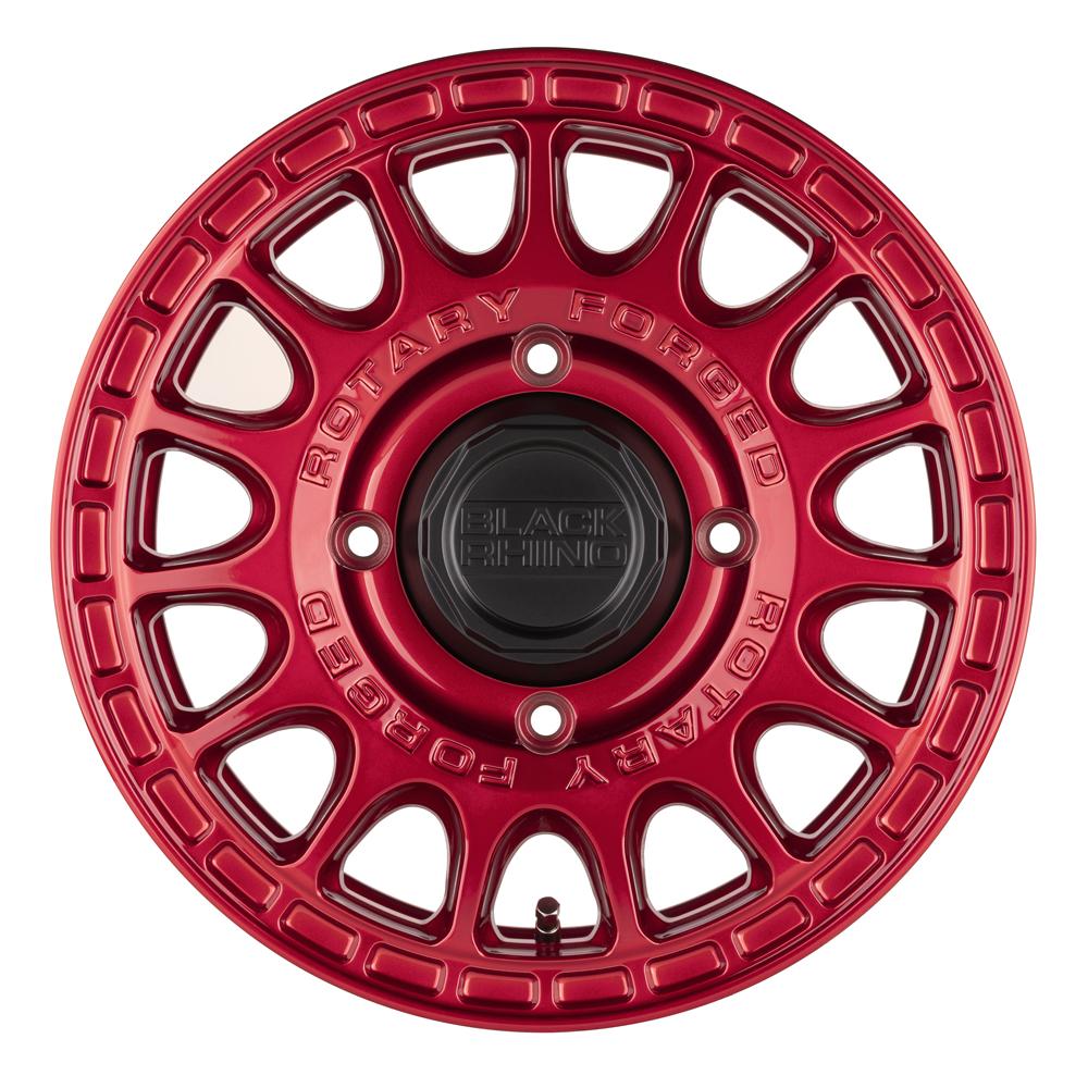 Black Rhino Wheels Sandstorm UTV - Candy Red Rim