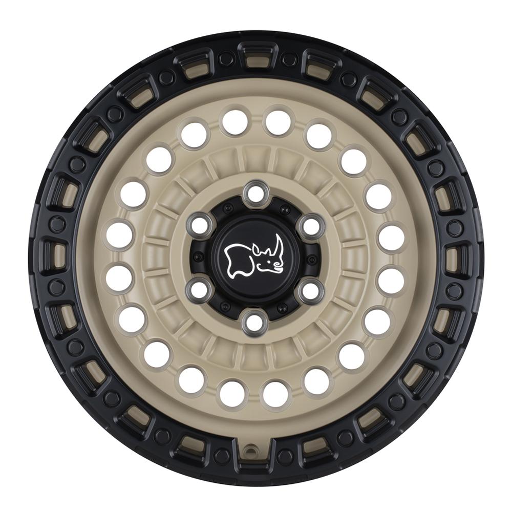 Black Rhino Wheels Sentinel - Desert Sand w/ Black Lip Edge Rim