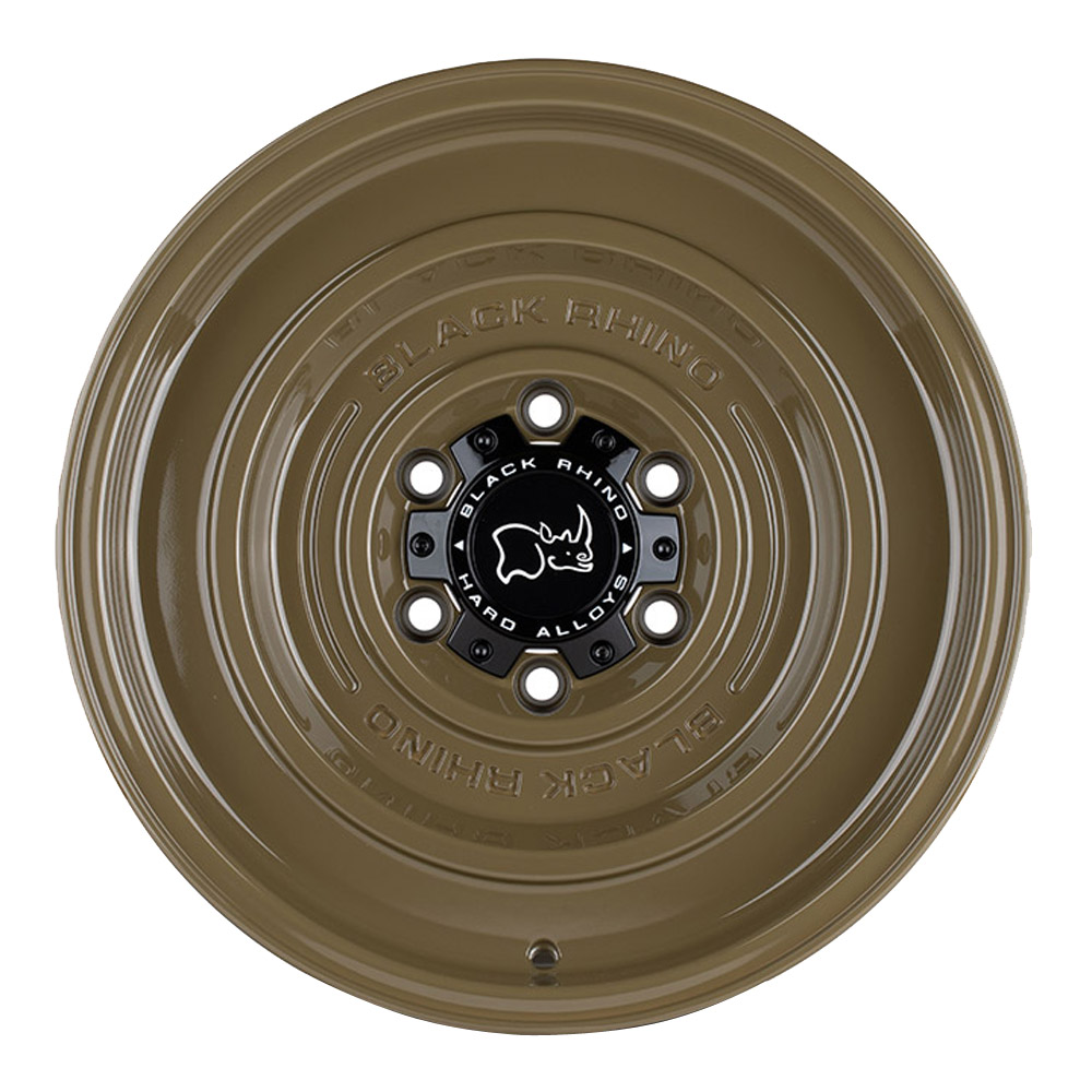 Black Rhino Wheels Solid - Gloss Alligator Green Rim