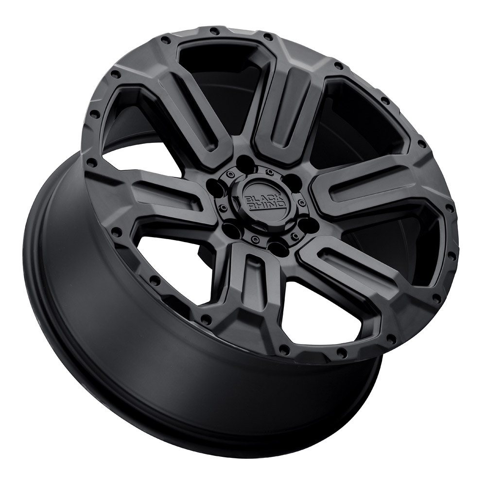 Black Rhino Wheels Wanaka - Matte Black Rim