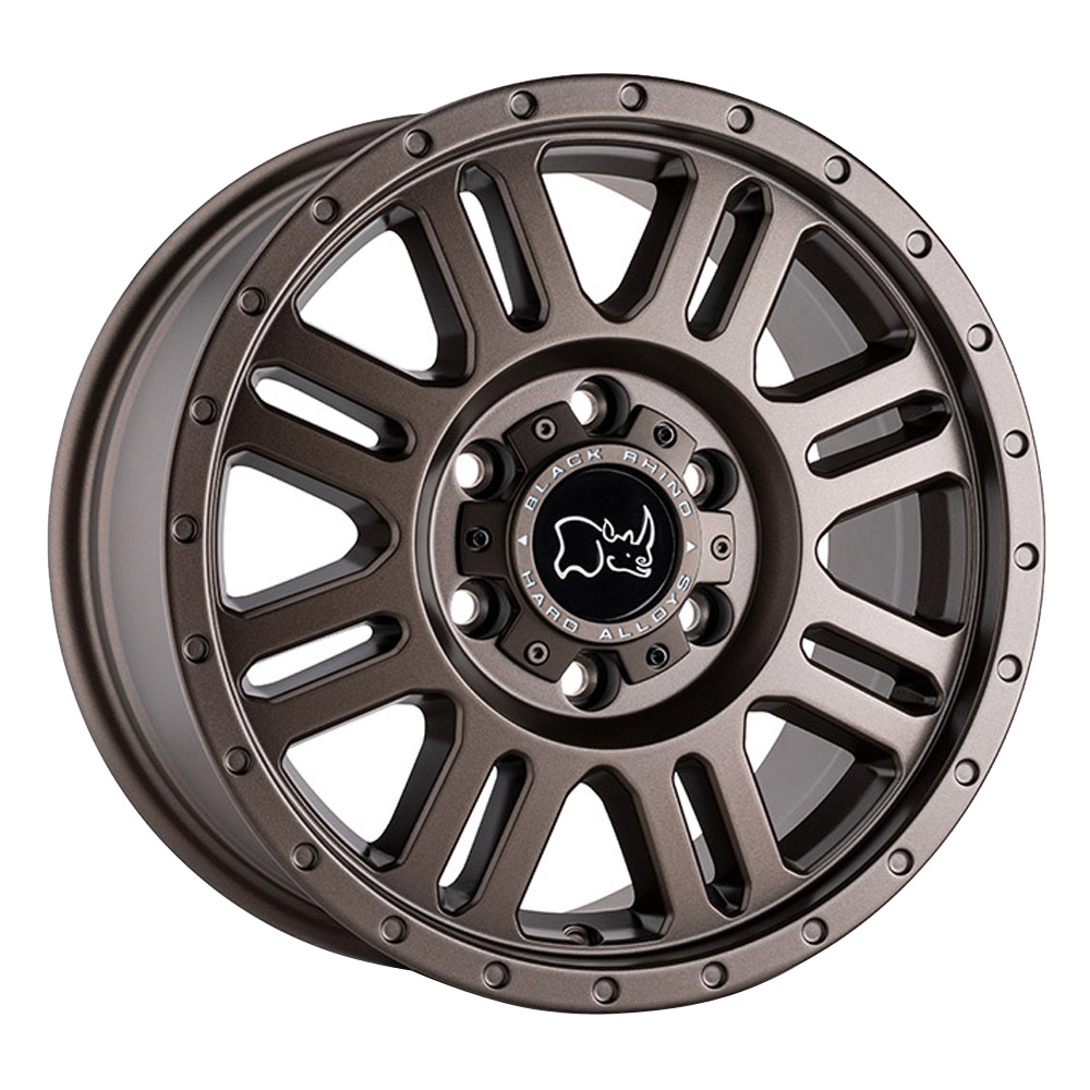 Black Rhino Wheels Yellowstone - Matte Bronze Rim