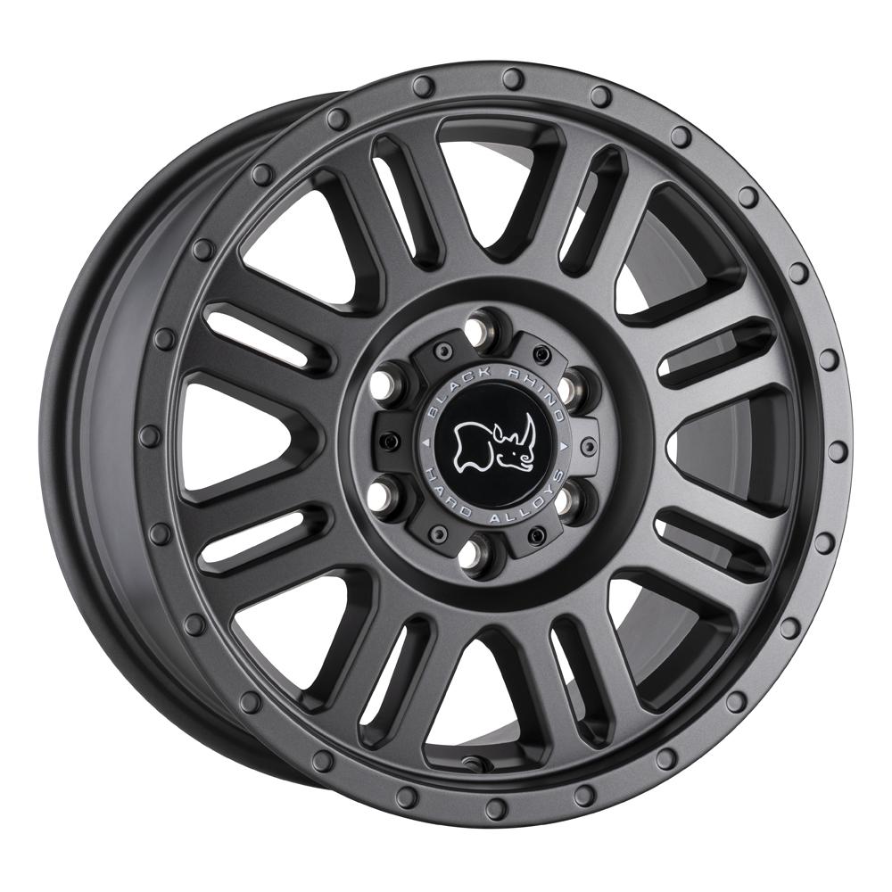 Black Rhino Wheels Yellowstone - Matte Gunmetal Rim