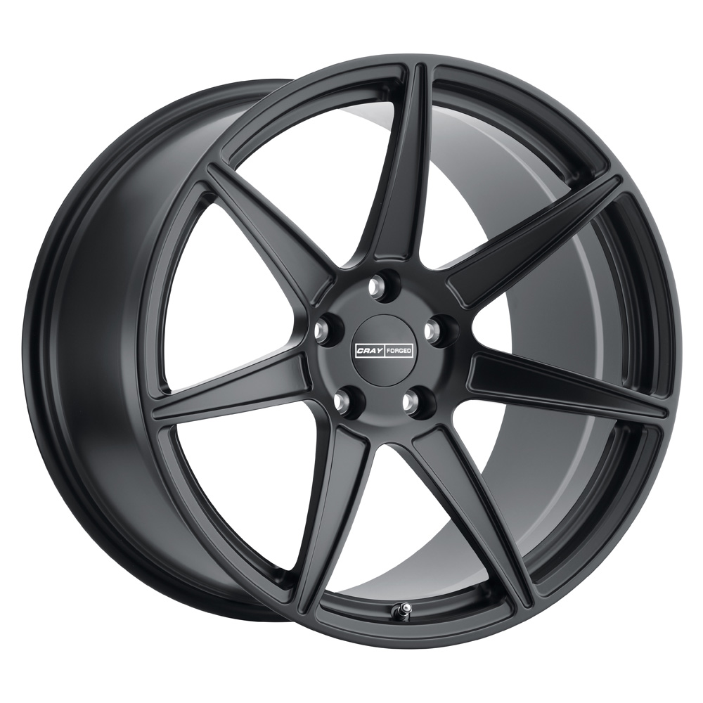 Cray Wheels Isurus - Matte Black Rim