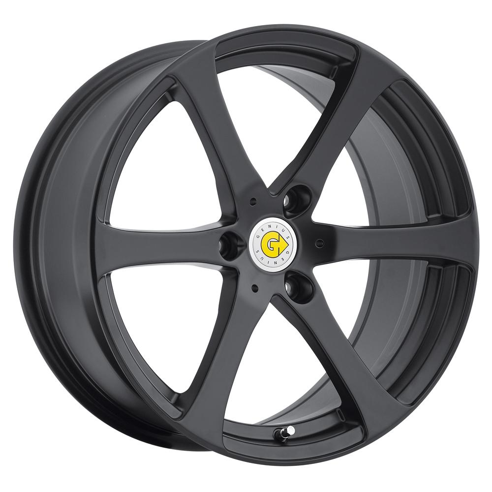 Genius Wheels Newton - Matte Black Rim