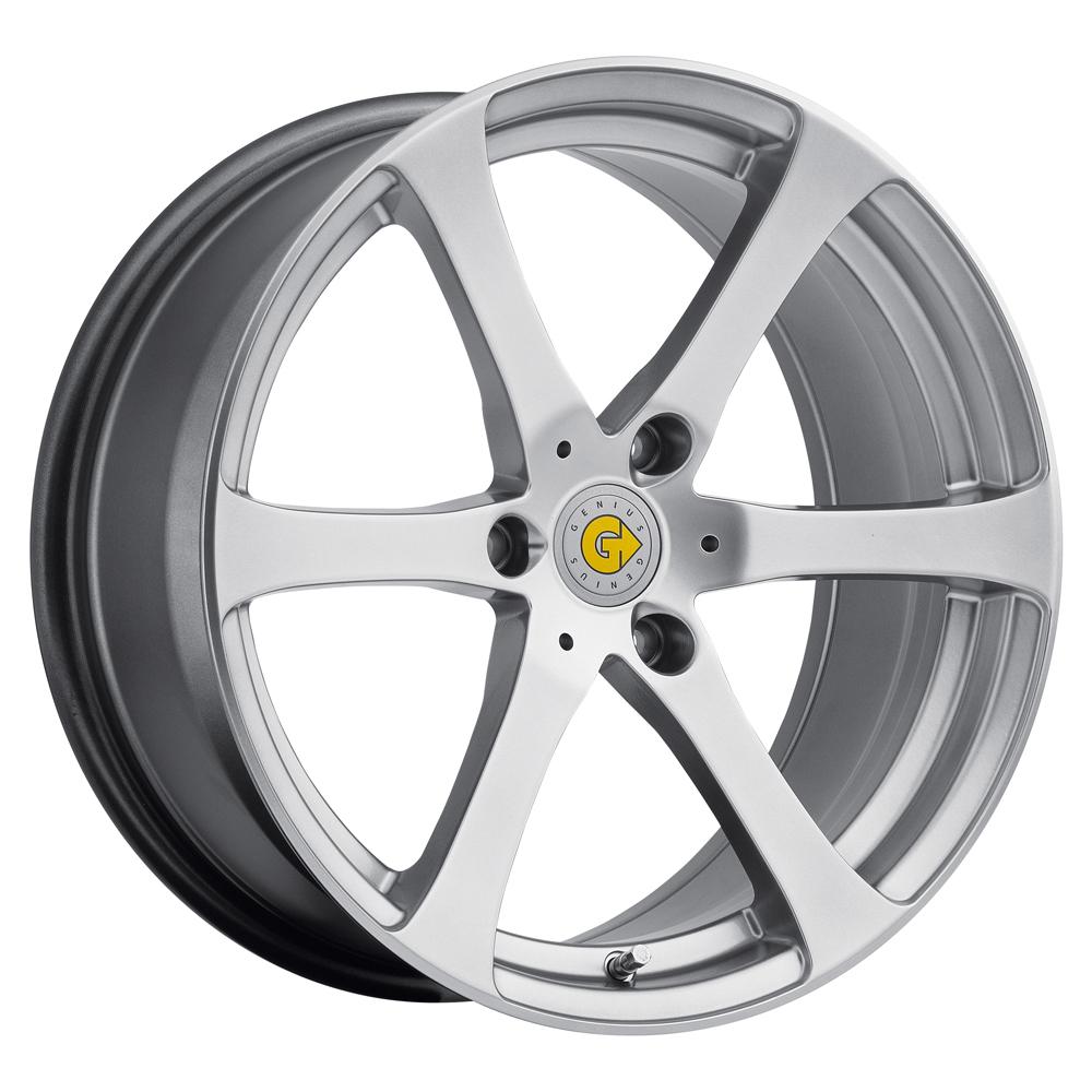 Genius Wheels Newton - Hyper Silver Rim