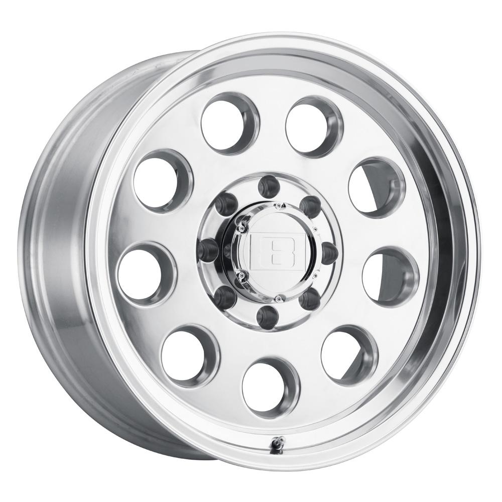 Level 8 Wheels Hauler - Polished Rim
