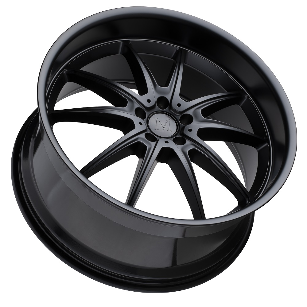 Mandrus Wheels Argent - Matte Black Rim