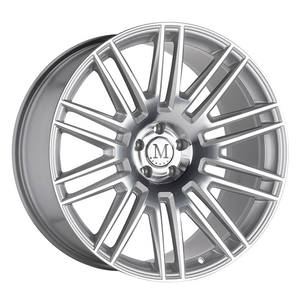 Mandrus Wheels Estate - Silver w/Mirror Face RF Rim