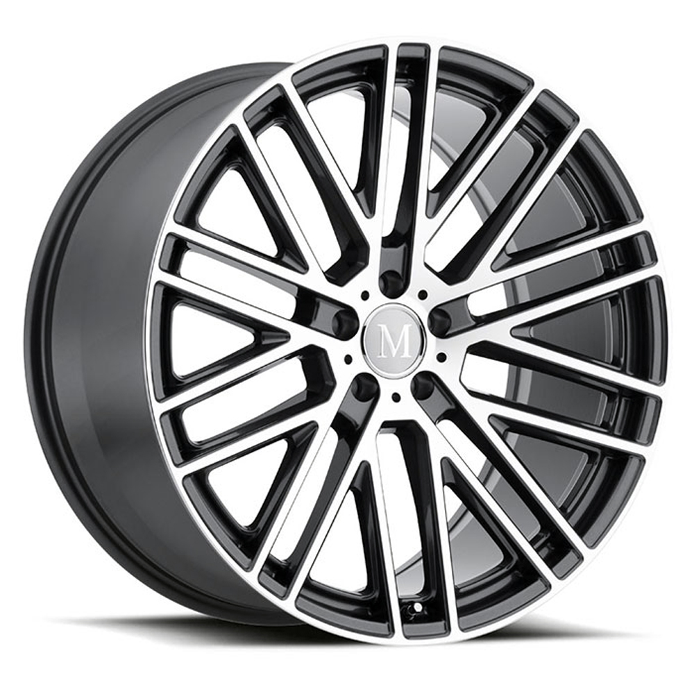 Mandrus Wheels Masche - Gloss Gunmetal W/Mirror Cut Face Rim