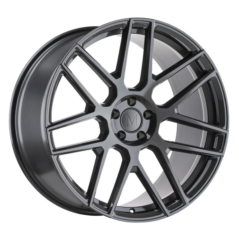 Mandrus Wheels Miglia - Gloss Gunmetal Rim