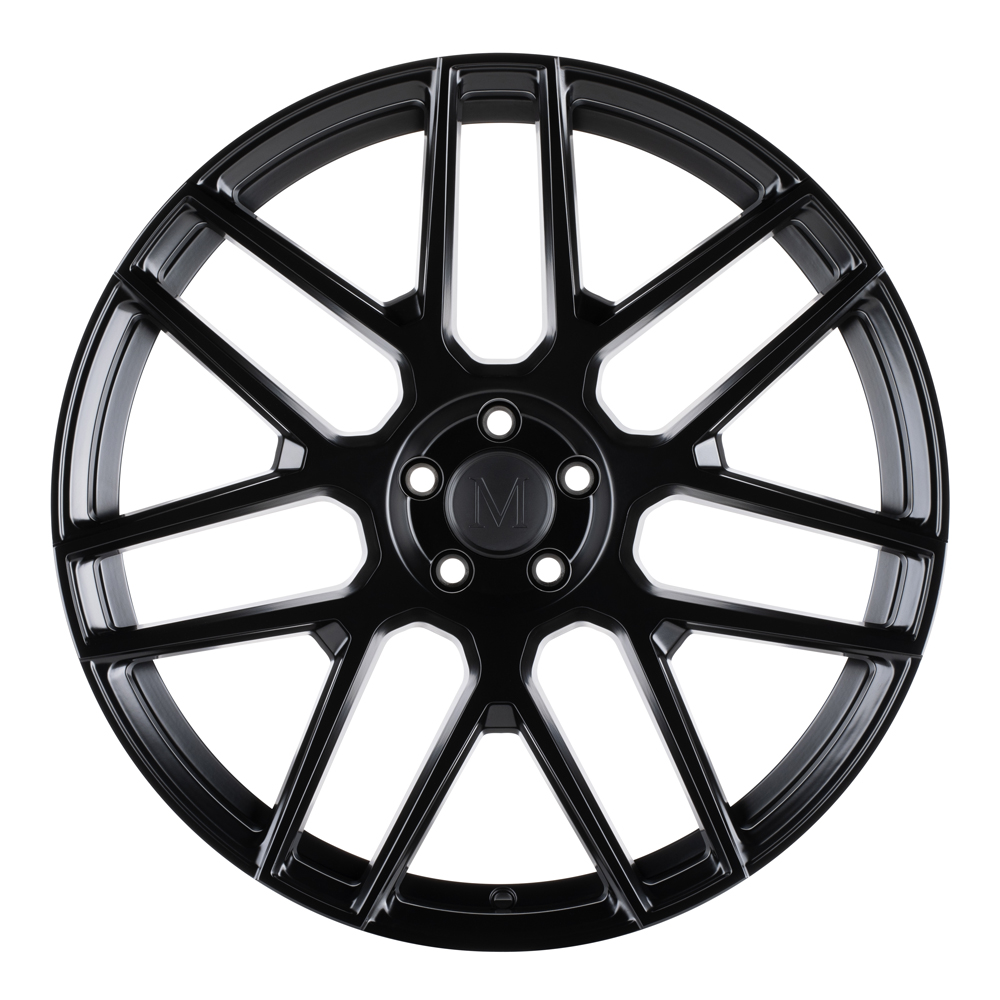 Mandrus Wheels Miglia - Semi Gloss Black RF Rim