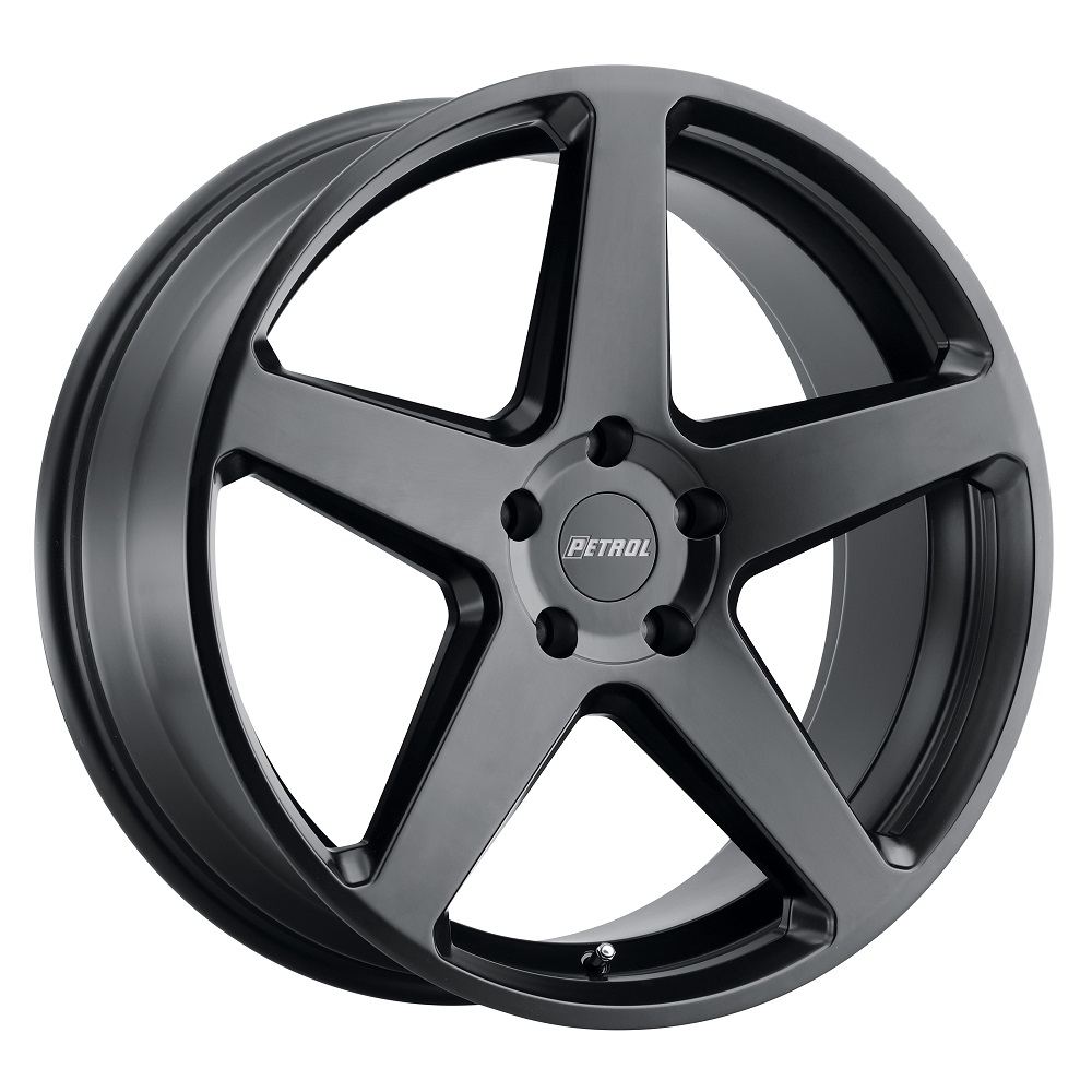 Petrol Wheels P2C - Semi Gloss Black Rim