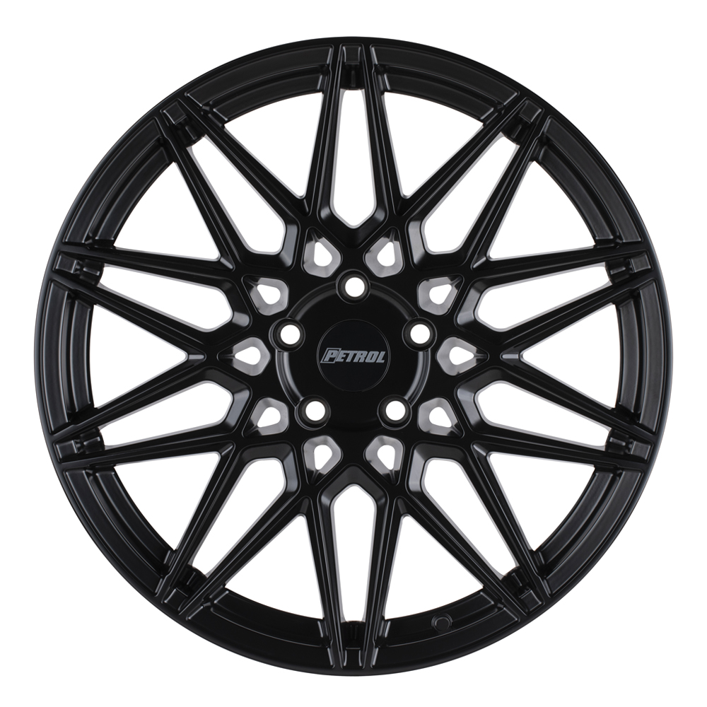 Petrol Wheels P3C - Semi Gloss Black Rim