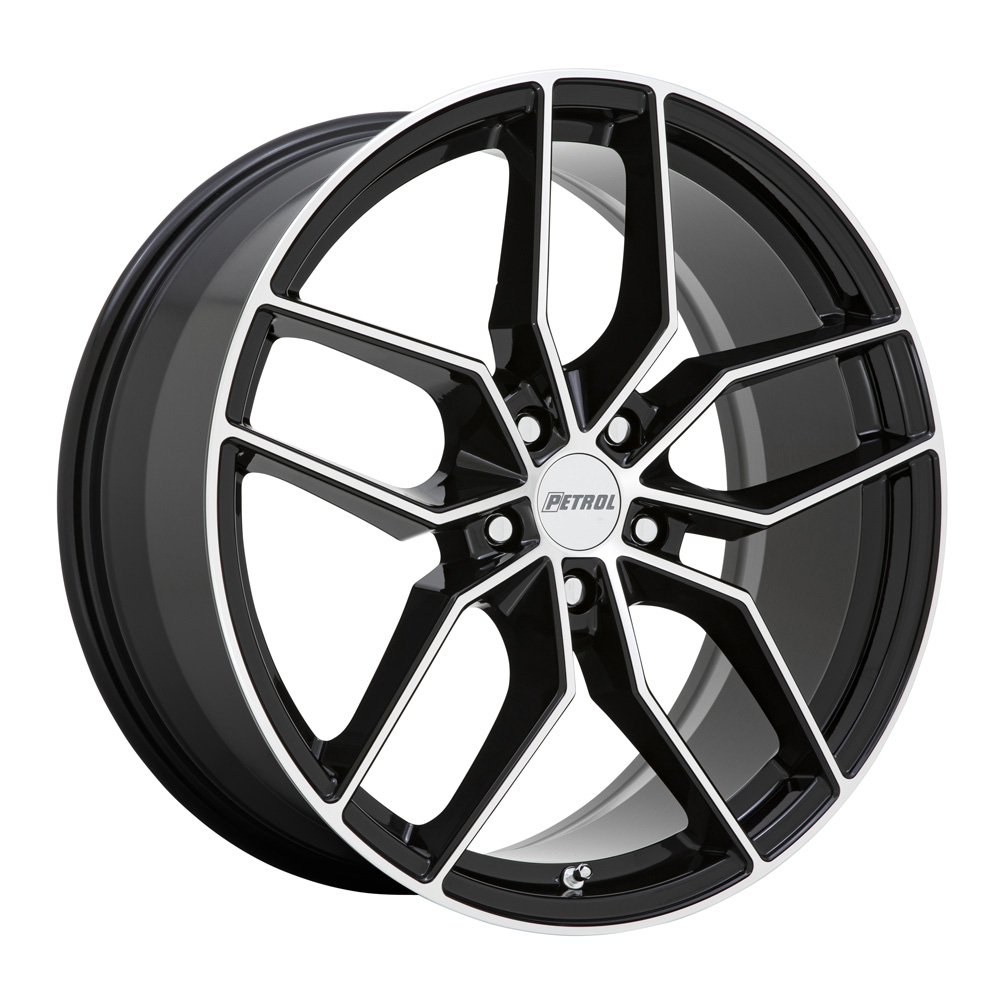 Petrol Wheels P5C - Black Machined Rim
