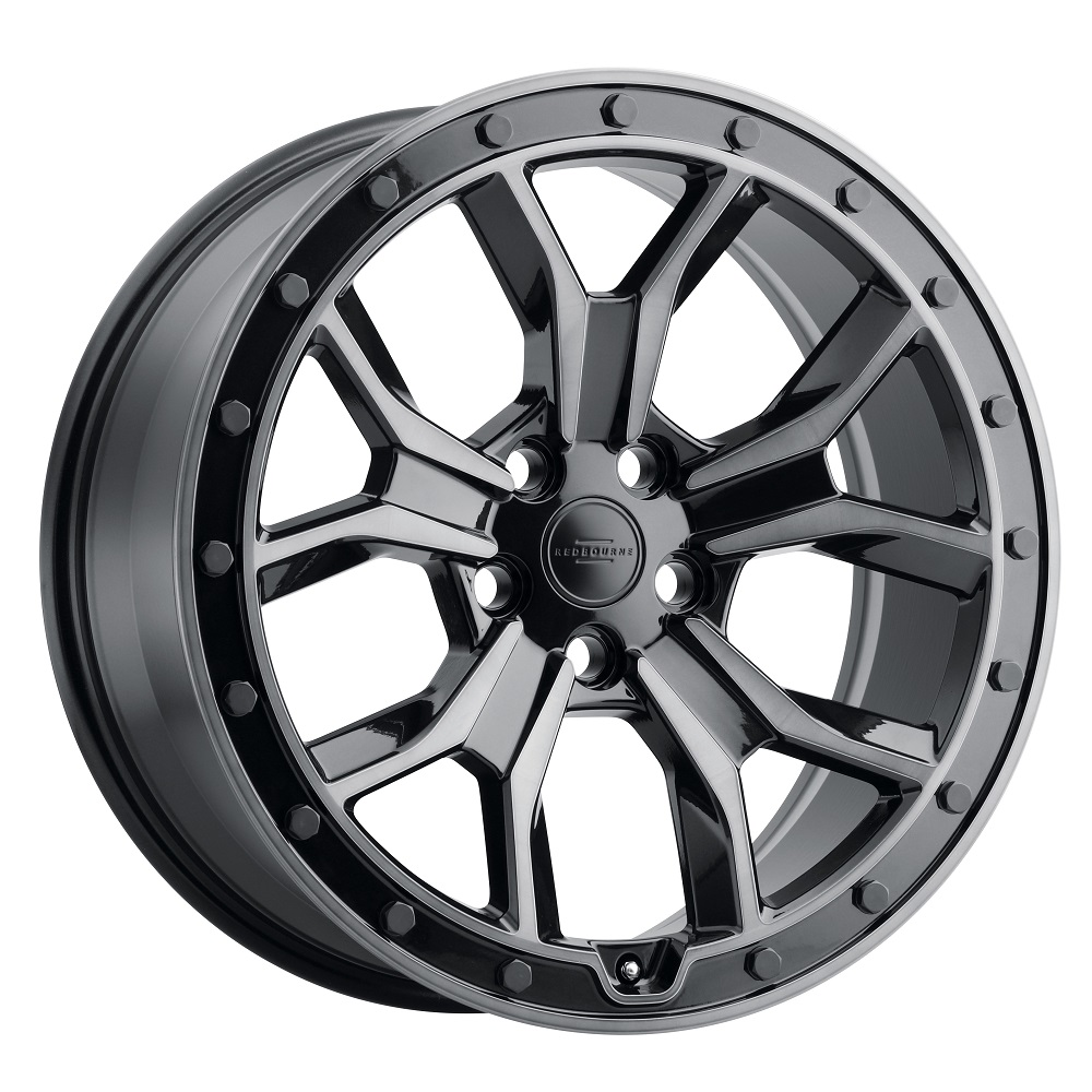 Redbourne Wheels Morland - Metallic Black/Brushed Tinted Face Rim