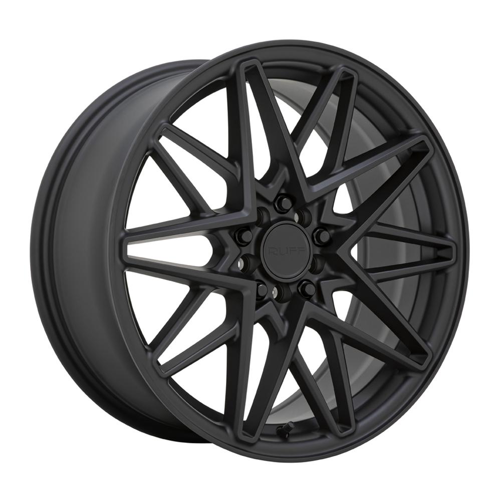 Ruff Wheels Clutch - Matte Black Rim