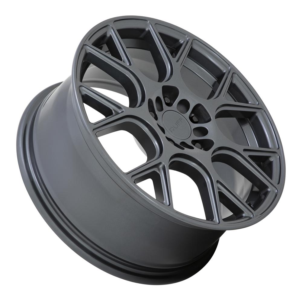 Ruff Wheels Drift - Gloss Gunmetal Rim