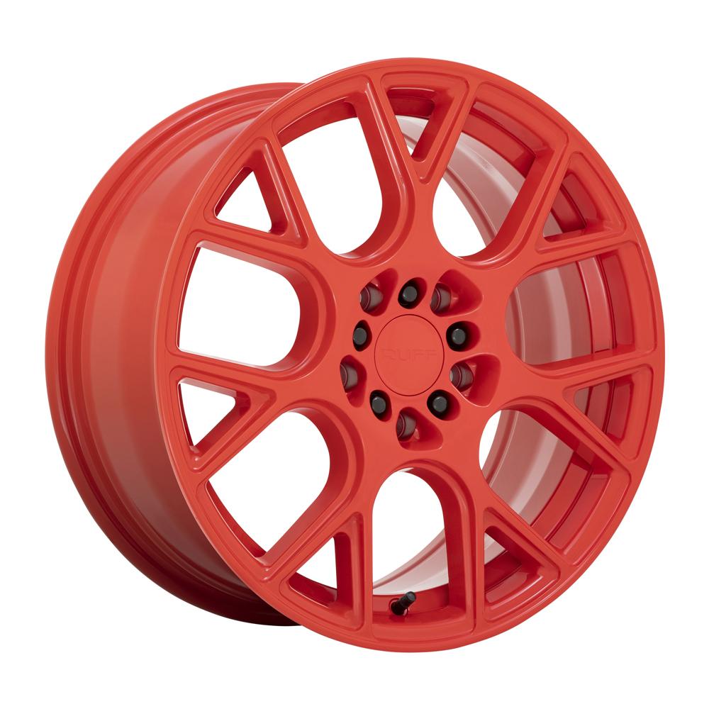 Ruff Wheels Drift - Gloss Red Rim