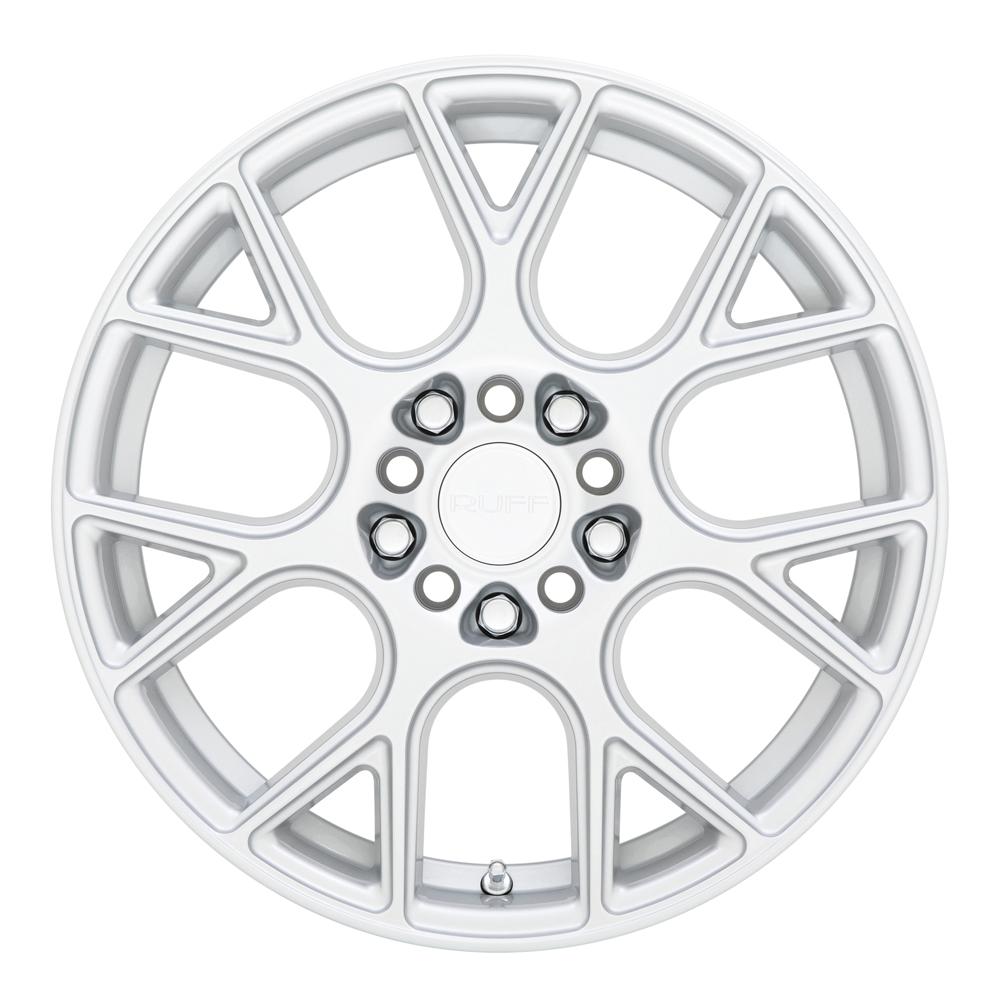 Ruff Wheels Drift - Silver Rim