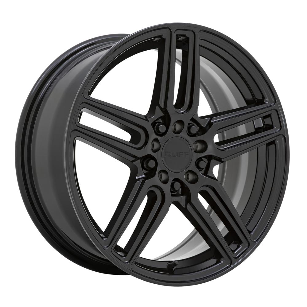 Ruff Wheels Nitro - Gloss Black Rim