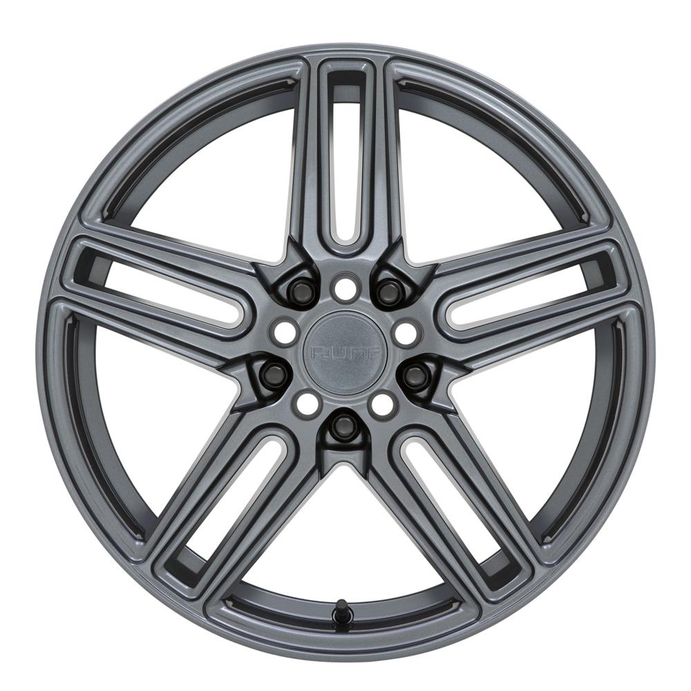 Ruff Wheels Nitro - Gloss Gunmetal Rim