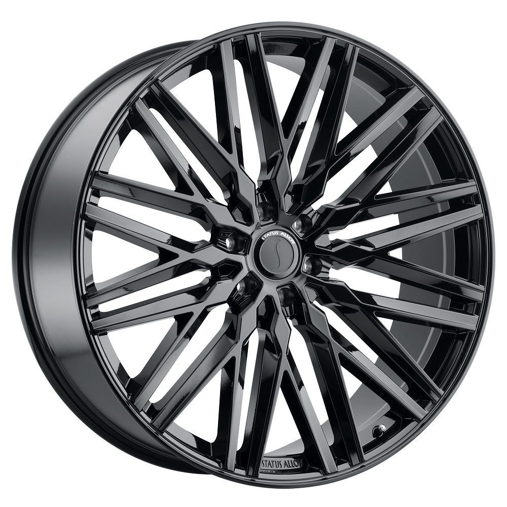 Status Wheels Adamas - Gloss Black Rim