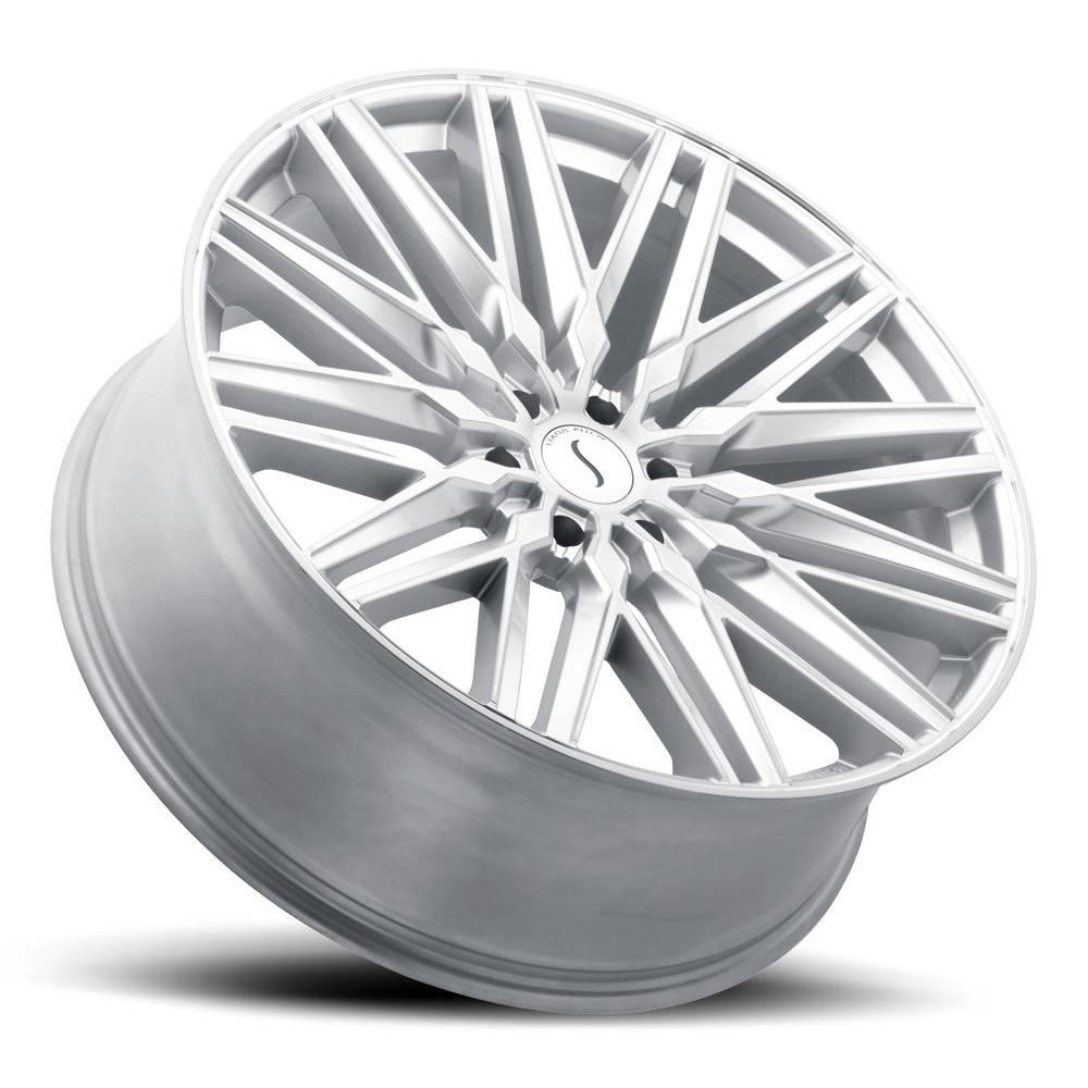 Status Wheels Status Wheels Adamas - Silver W/Mirror Face