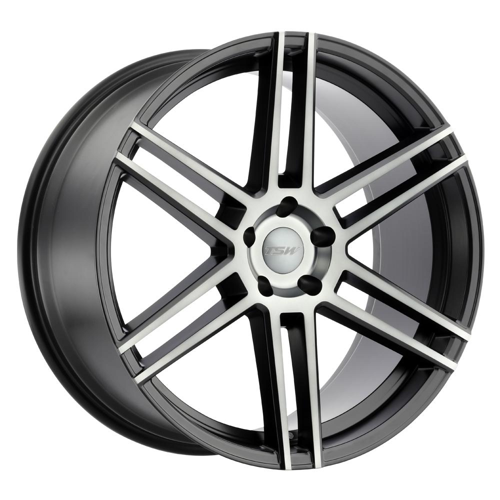 TSW Wheels Autograph - Gloss Black W/Mirror Cut Face Rim