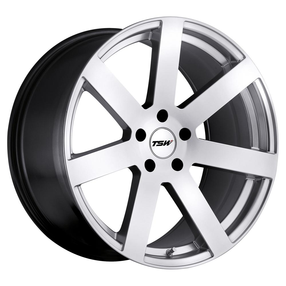 TSW Wheels Bardo - Hyper Silver
