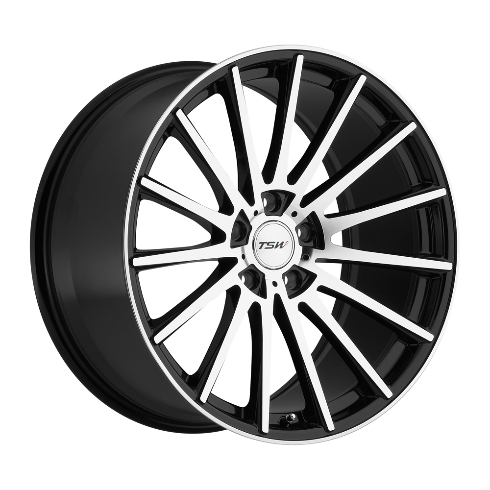TSW Wheels Chicane - Gloss Black w/Mirror Cut Face