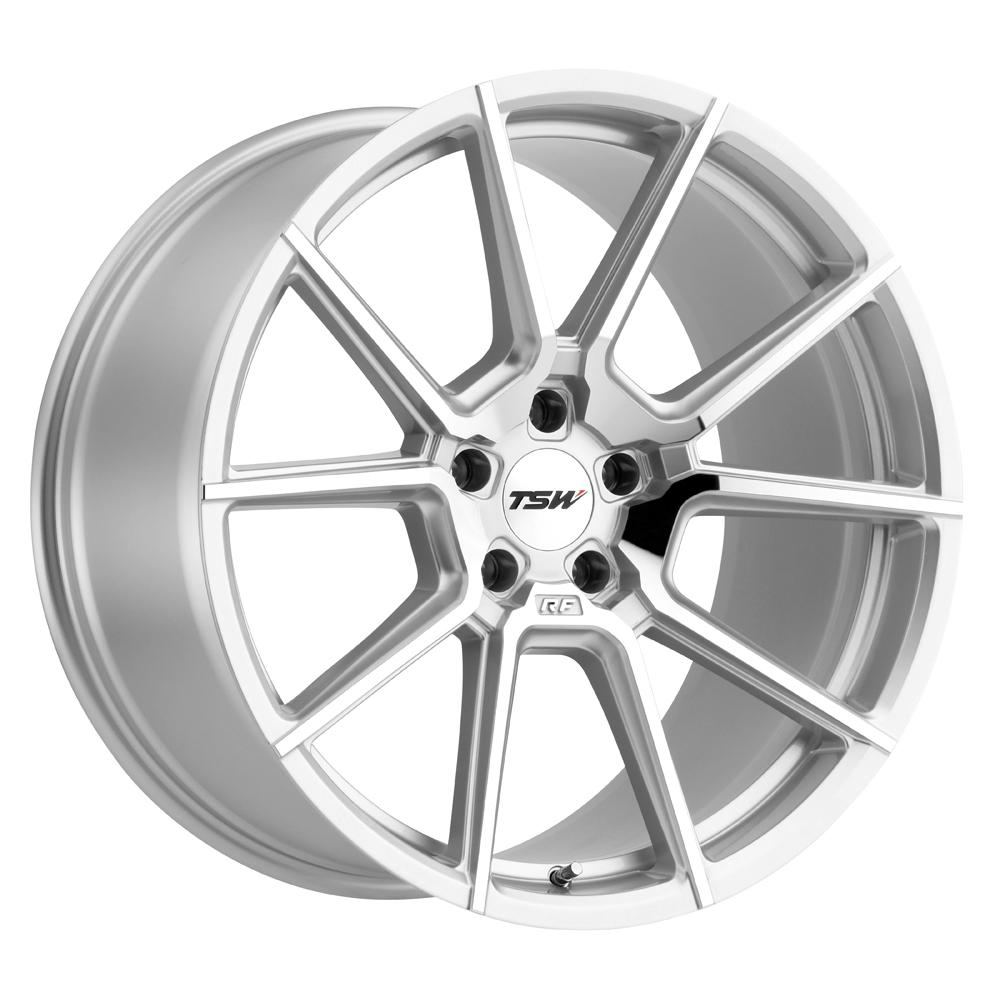 TSW Wheels Chrono - Silver w/Mirror Cut Face Rim