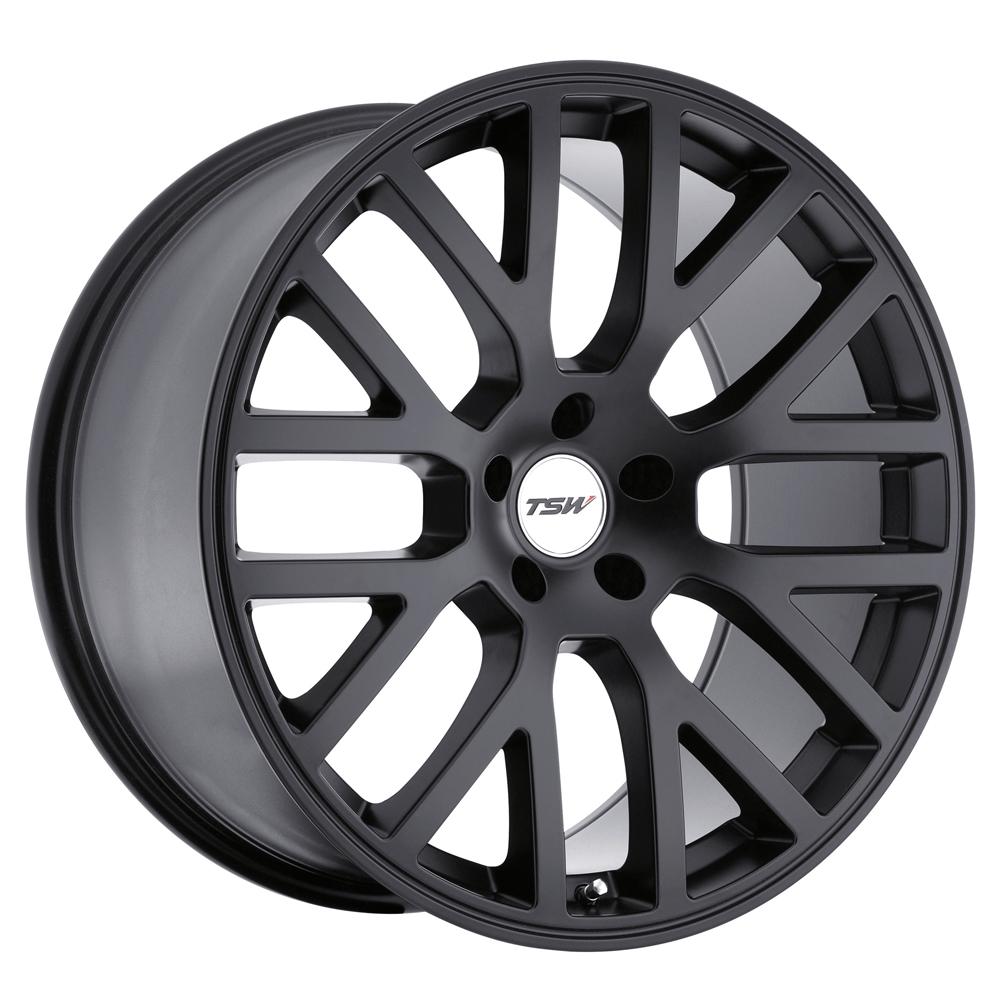 TSW Wheels Donington - Matte Black