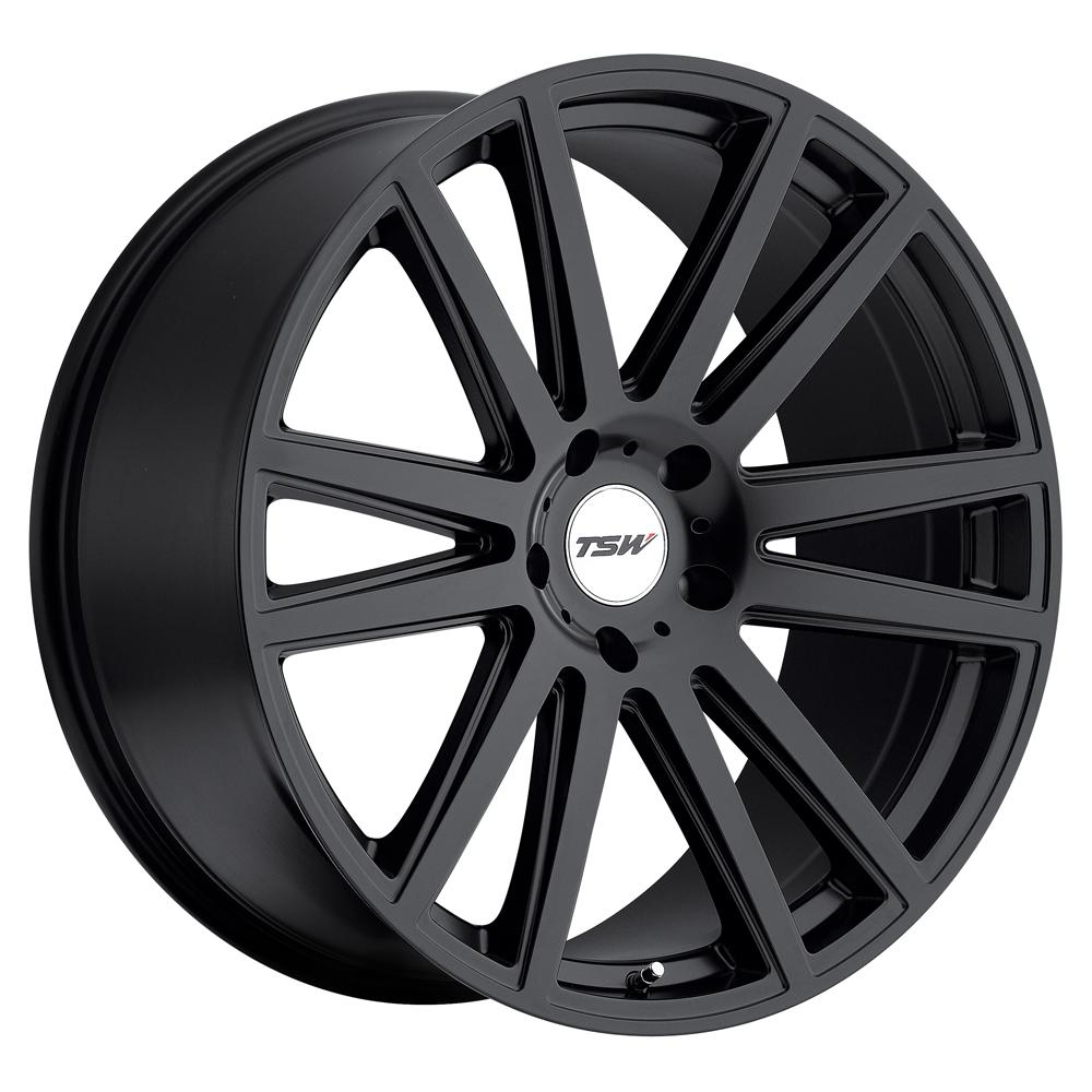TSW Wheels Gatsby - Matte Black