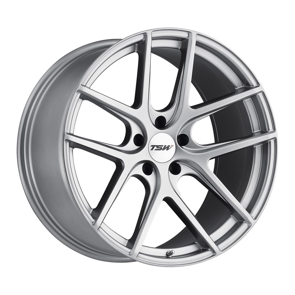 Geneva - Matte Titanium Silver