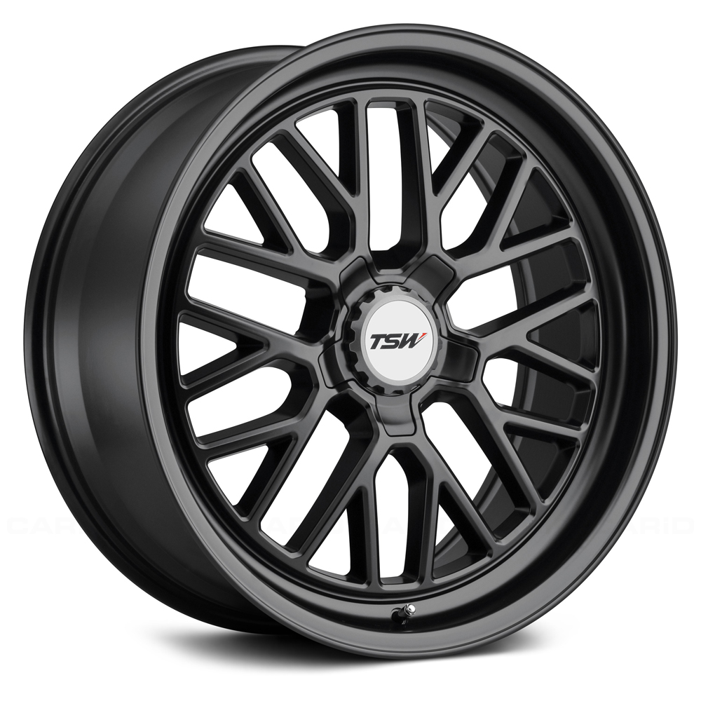 Hockenheim S - Semi Gloss Black (Gunmetal Hex Nut)