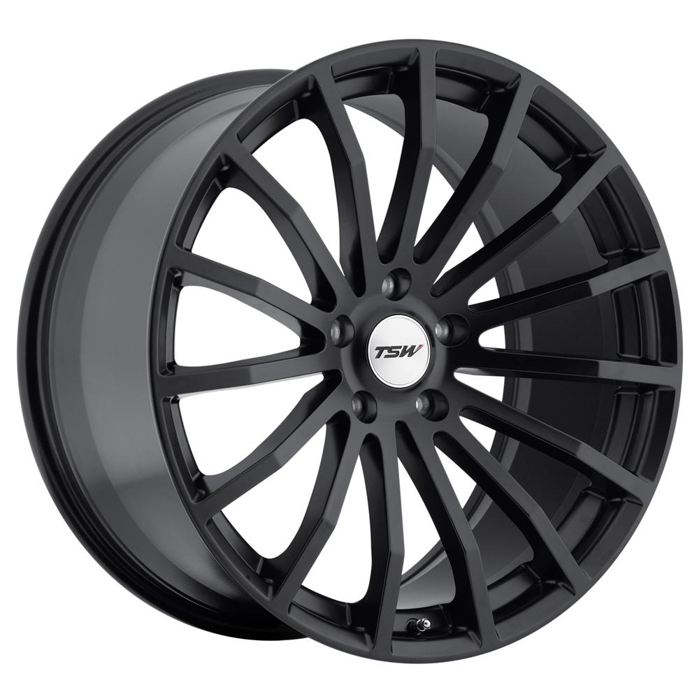 TSW Wheels Mallory - Matte Black Rim
