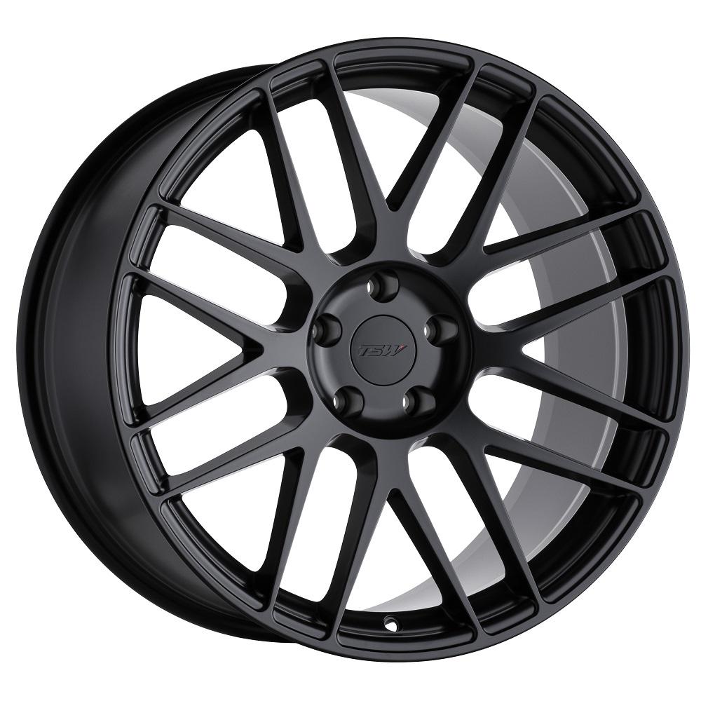 TSW Wheels Nord - Semi Gloss Black RF Rim