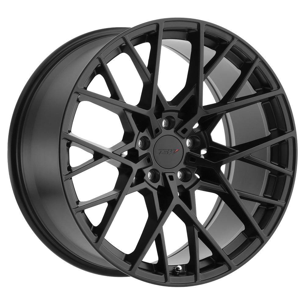 TSW Wheels Sebring - Matte Black Rim