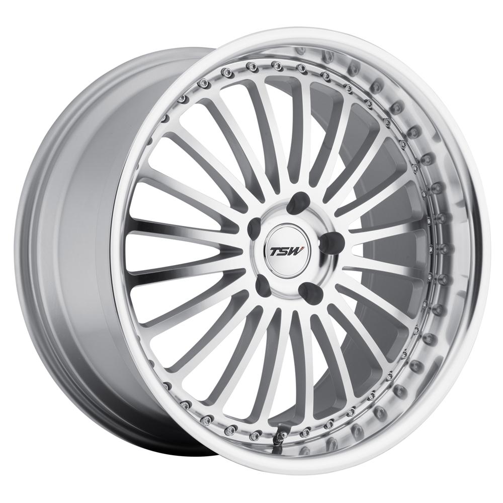 Silverstone - Silver W/Mirror Cut Face & Lip