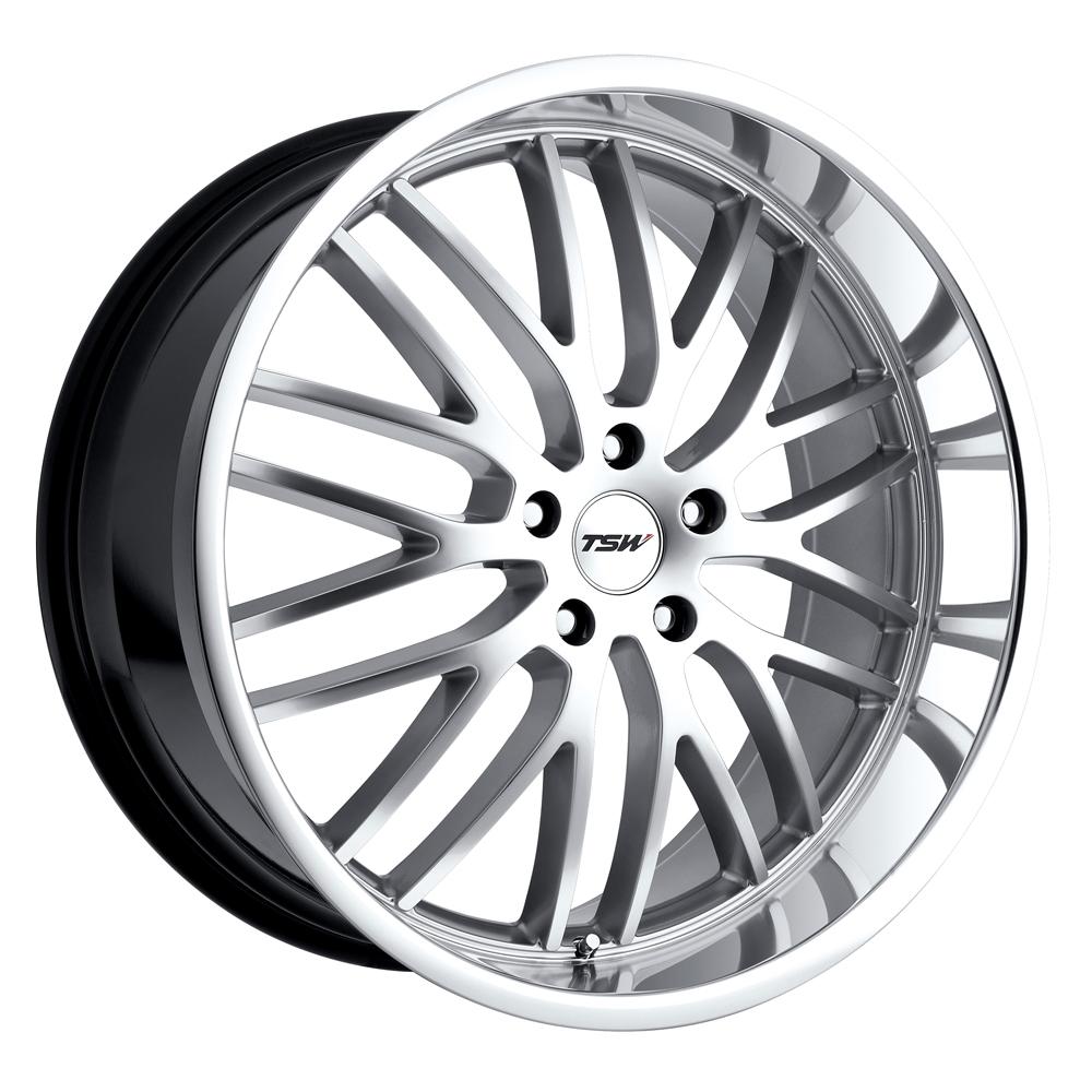 TSW Wheels Snetterton - Hyper Silver W/Mirror Cut Lip Rim