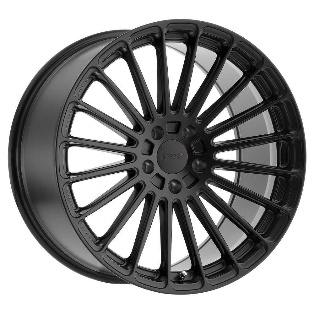 TSW Wheels Turbina - Matte Black