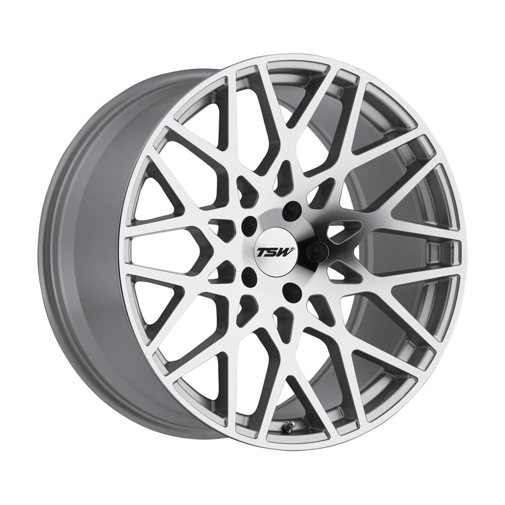 TSW Wheels Vale - Silver W/Mirror Cut Face