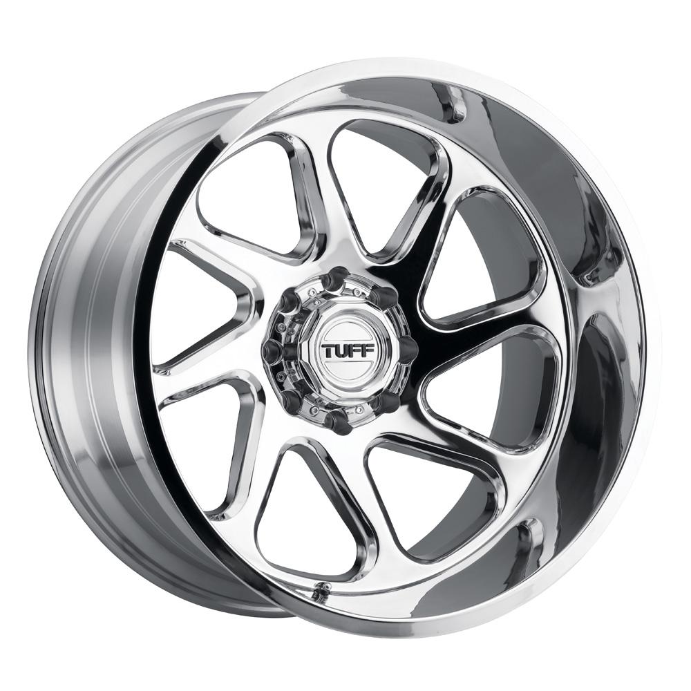 Tuff Wheels T2B - Chrome Rim